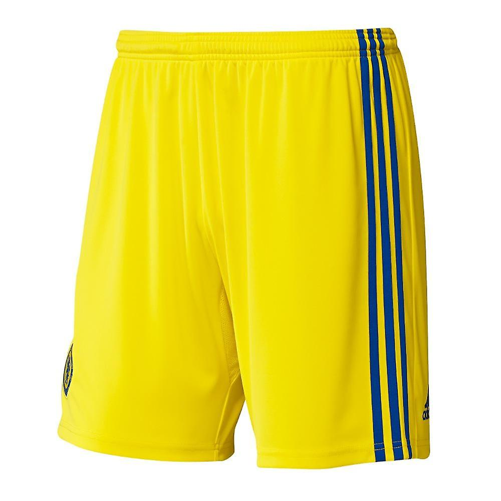 2014-15 Chelsea Adidas Away Shorts (Yellow)