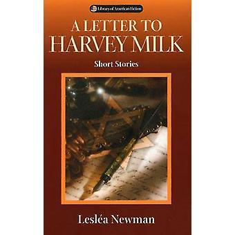 Une lettre à Harvey Milk - histoires courtes (nouvelle édition) par Leslea Newman