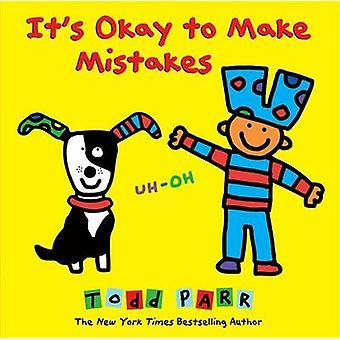 Es ist Okay, Fehler von Todd Parr - 9780316230537 Buch zu machen