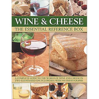 Wine and Cheese - The Essential Reference Box by Juliet Harbutt - Stua