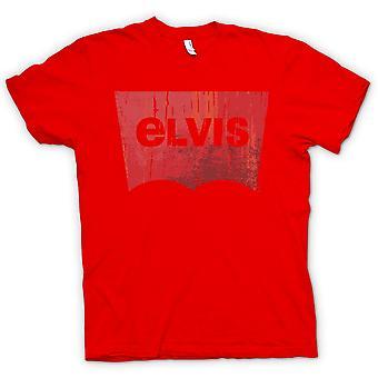 Levis para hombre t-shirt - Elvis - inspirado
