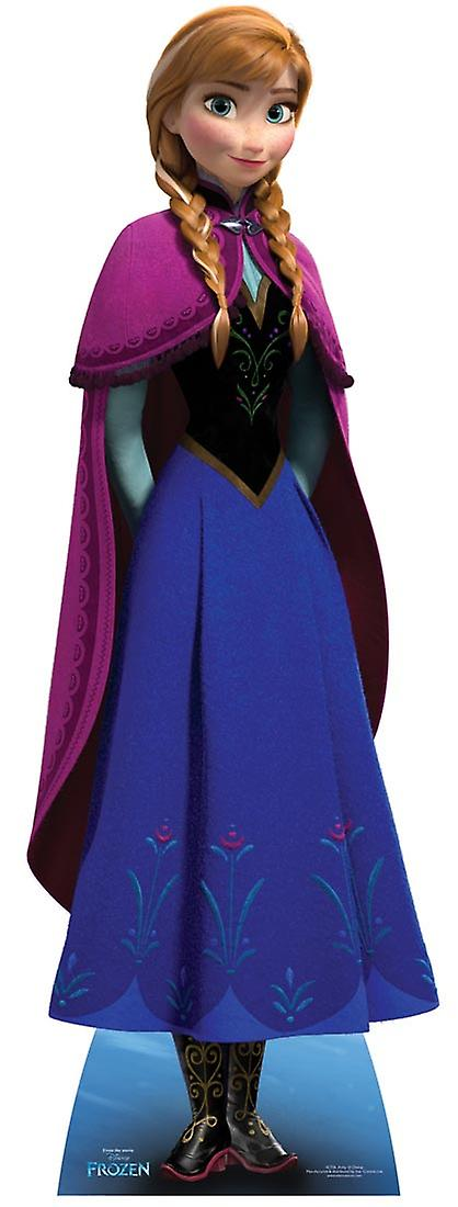 Anna from Frozen Disney Cardboard Cutout / Standee