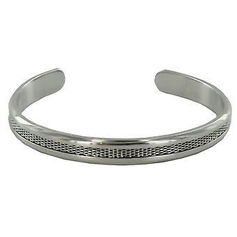 Skagen dames mesh Bangle staal zilver JCSS029