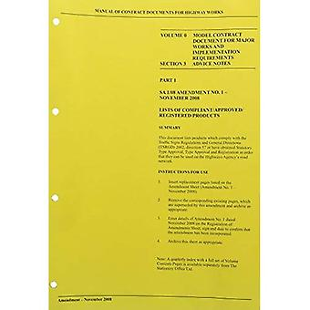 Manual of contract documents for highway works: Vol. 0: Model contract document for major works and implementation...