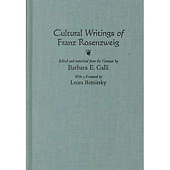 Cultural Writings of Franz Rosenzweig (Library of Jewish Philosophy)