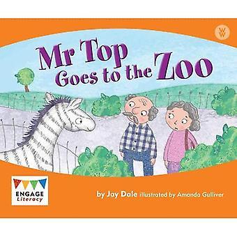 Senhor topo vai para o zoológico (Alfabetização acoplam maravilha palavras)