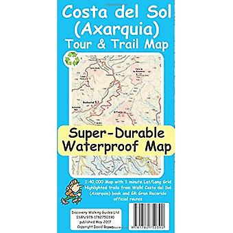 Costa del Sol (Axarquia) Tour and Trail Super-Durable Map (Sheet map)