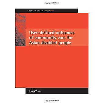 Défini par l'utilisateur des résultats de soins communautaires pour personnes handicapées asiatiques