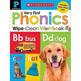 Wipe-Clean Workbook: Pre-K Very First Phonics (Scholastic Early Learners) (Scholastic Early Learners)