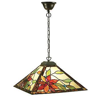 Lelani moyen Style Tiffany un plafond lumineux pendentif - Interiors 64228 1900