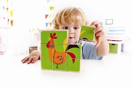 HAPE-Farm Animals Block Puzzle E0422