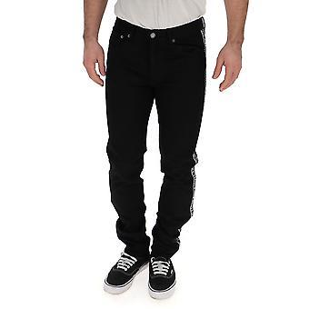 Givenchy preto Denim Jeans