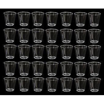 Plastic Shot Glasses 30Ml (1 Ounce) 200/Pack - (KD0005)