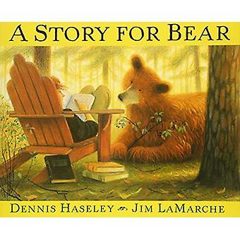 Une histoire d'ours par Dennis Haseley - livre 9781328740489