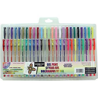 Sargent Art Gel Pen Set 50/Pkg-Assorted