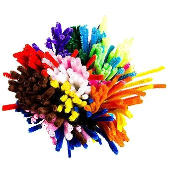 Pipe Cleaner 150 Pieces Pipe Cleaners 6 Mm X 30 Cm Bending Plush For Children Craft And Decoration 150 Pcs 15 Colors