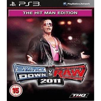 WWE Smack Down Vs Raw 2011 The Hitman Edition (PS3)
