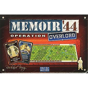 Days of Wonder Memoir 44 Operation Overlord Expansion for Board Game