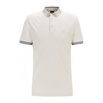 Hugo Boss Casual Hugo Boss Pique Light Beige Polo Shirt