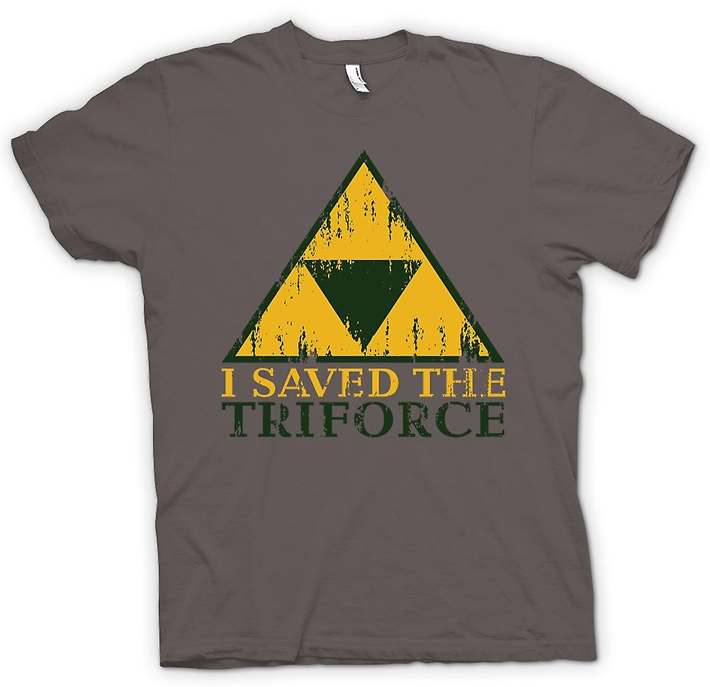 Womens T-shirt - jag sparade TriForce - Legend Of Zelda inspirerad
