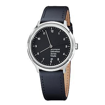 Mondaine Helvetica No1 ordinaire 40 Armbanduhr (MH1. R2220.LB)