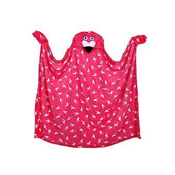 Flamingo Hooded deken
