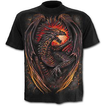 Spiraal-Dragon Furnace-Kids t-shirt