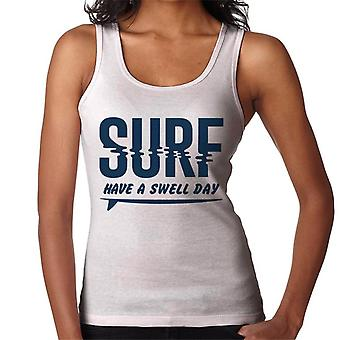 London Banter Have A Swell Day Surf Women's Vest