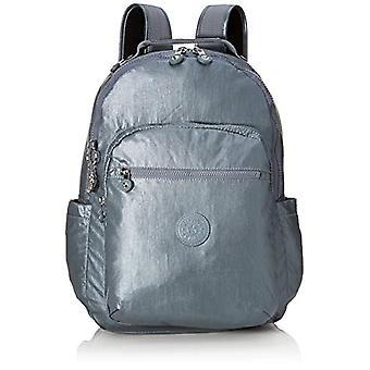 Kipling Basic Plus - School Backpack - 44 cm - Steel Gr Metal (Grey) - KI4034H55