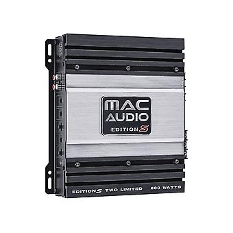 Mac audio edition S two limited, 2-channel power amplifier, new goods