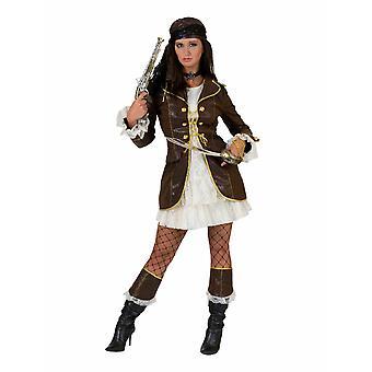 Bounty Women's Costume Pirata Buccaneer Pirata Cancellazione Privata Costume Carnevale tema tra le donne