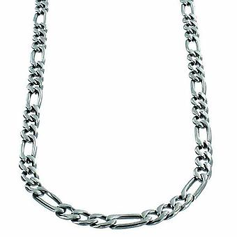 Necklace Stainless Steel Figaro link 5mm