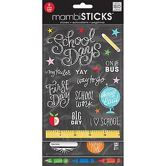 Stickers Value Pack -Chalk - School Today GVP-59