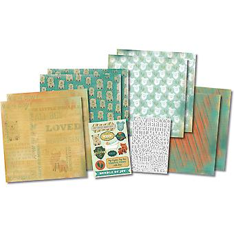 It's A Boy Scrapbook Page Kit 12