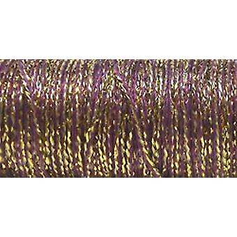 Kreinik sehr feine Metallic Braid #4 11 Meter 12 Yards Golden Cabernet Vf 5845