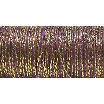 Kreinik Medium Metallic Braid 16 # 10 mètres 11 verges d'or Cabernet M 5845