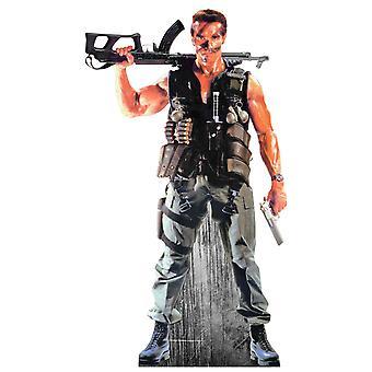 Arnold Schwarzenegger Lifesize kartong släppandet / stående / Standup