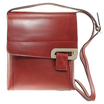 CTM small and elegant shoulder bag made of genuine leather made in italy