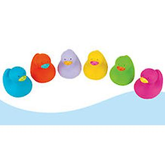 K's Kids Rubber duckies - Various Colors 10 Item