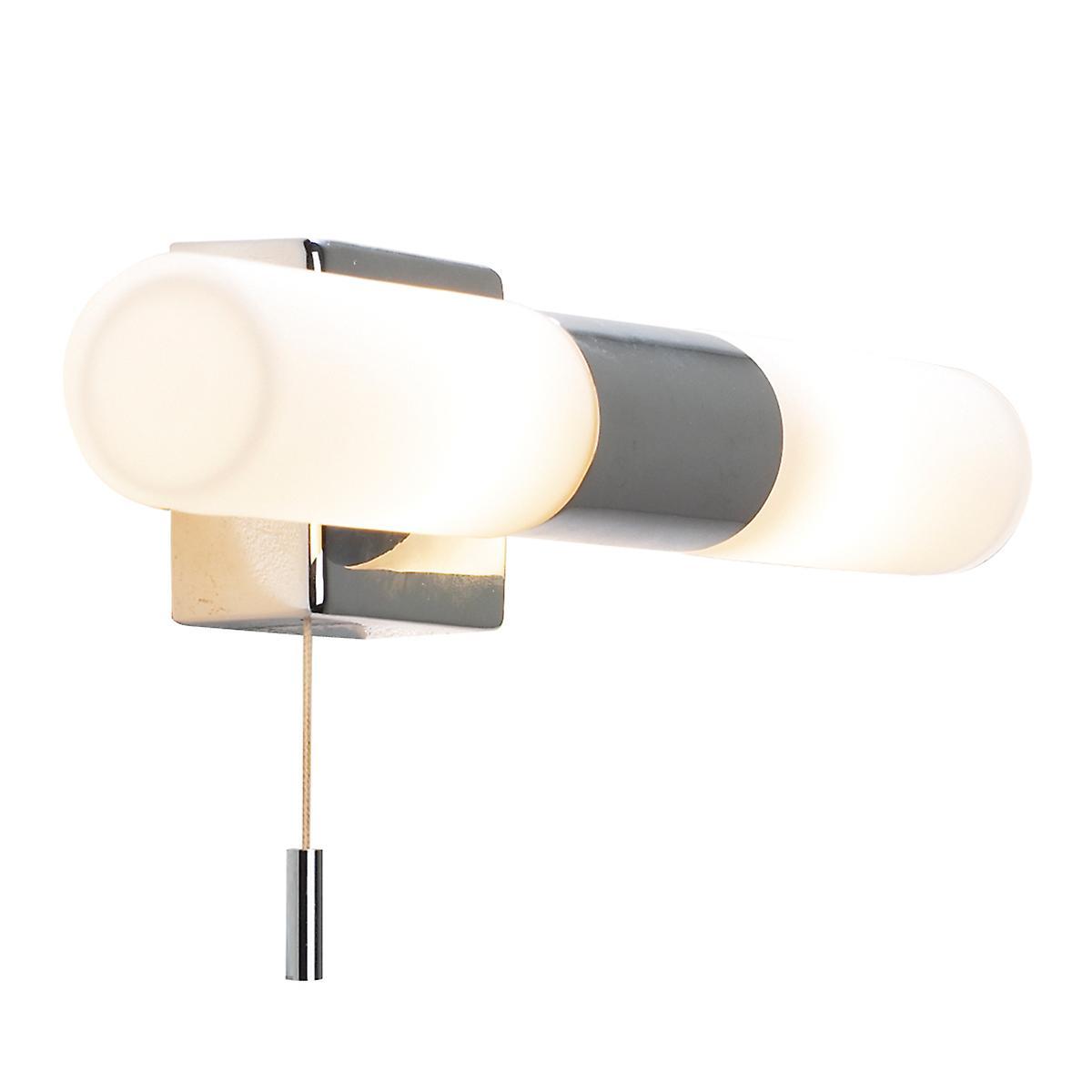 Dar BUE0950 Bueno Modern Switched Halogen Bathroom Wall Light