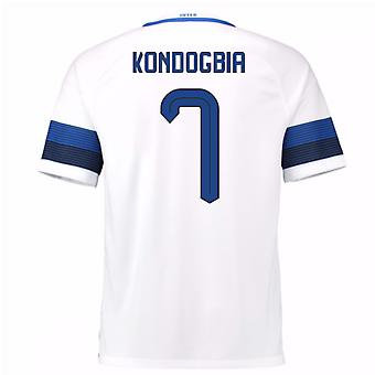 2016-17 Inter Milan Away Shirt (Kondogbia 7)
