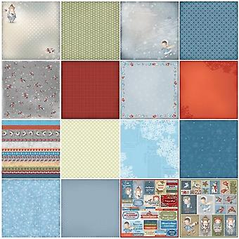 ScrapBerry's Once Upon A Winter Paper Pack 12