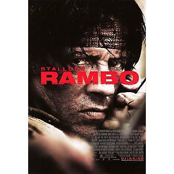 Rambo filmaffisch (11 x 17)