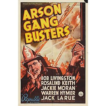 Arson Gang Busters Movie Poster Print (27 x 40)