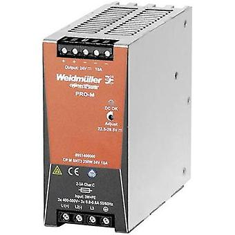 Rail mounted PSU (DIN) Weidmüller CP M SNT3 250W 24V 10A 24 Vdc 10 A 240 W 1 x