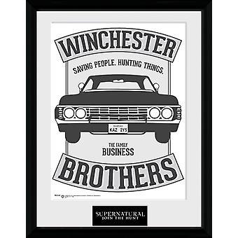 Nadprzyrodzone Winchester Collector Print