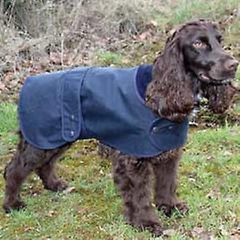 Hunter voks frakke marineblå 71cm (28