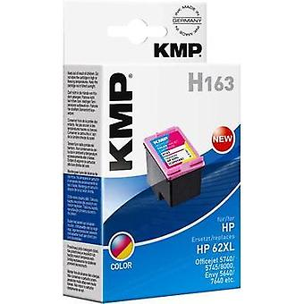 KMP Ink replaced HP C2P07AE (62XL) Compatible Cyan, Magenta, Yellow H163 1741,4030