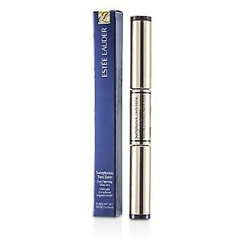 Estee Lauder Sumptuous Two Tone Eye Opening Mascara - # 01 Bold Black/Rich Brown - 2x3ml/0.09oz