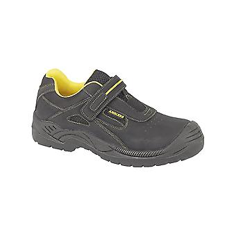Amblers Safety FS77 Safety Unisex Trainers Leather Padded Collar Casual Shoes